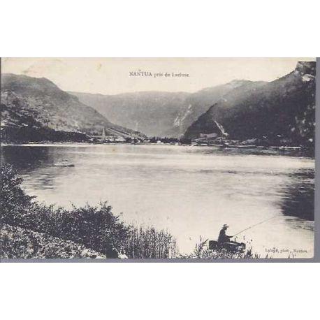 Carte postale 01 - Nantuav pris de Lacluse