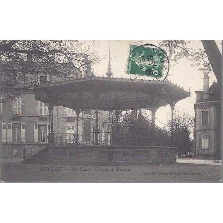 03 - Moulins - Les cours - Kiosque de musique