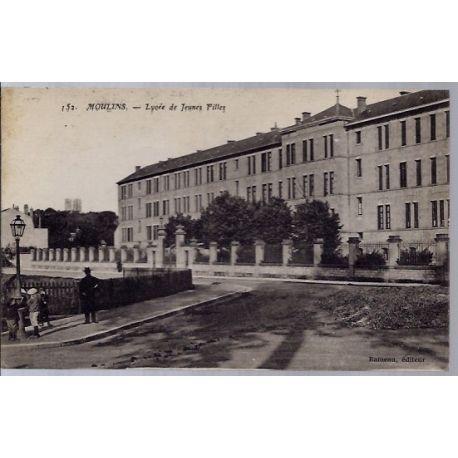 03 - Moulins - Lycee de jeunes filles - Voyage - Dos divise...