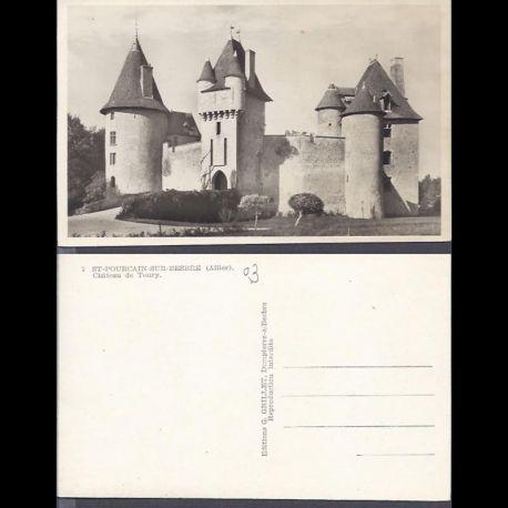 03 - Saint Pourcain sur Besbre - Chateau de Toury