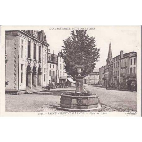 03 - St Amand Tallende - Place de l'Aise