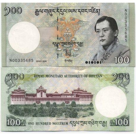 Bhoutan - Pk N° 32 - Billet de 100 Ngultrum
