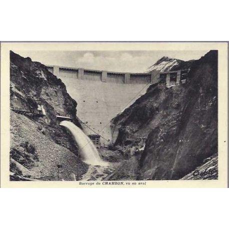 05 - Barrage du Chambon vu en aval