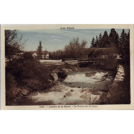 05 - Gap - Quartier de la Blache - Le torrent de la Luye - Non voyage - Dos ...