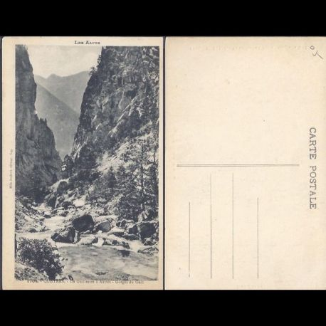 05 - Queyras - De Guillestre a Abries - Gorges du Guil