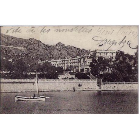 06 - Beaulieu - Hotel Bristot - Voyage - Dos divise...