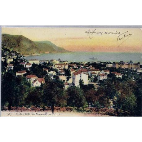 06 - Beaulieu - Panorama - Voyage - Dos divise...