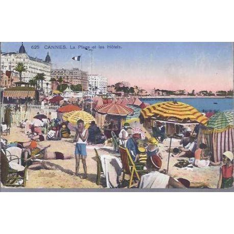 06 - Cannes - La plage et les hotels
