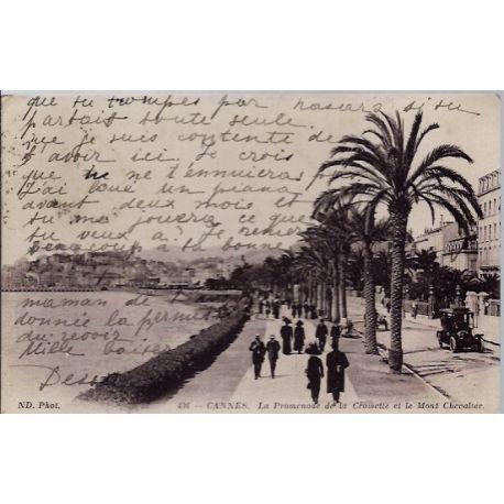 06 - Cannes - La promenade de la croisette et le Mont-Chevalier - Voyage - D...