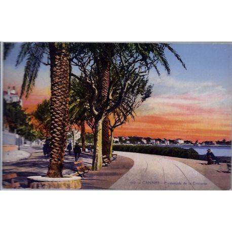 06 - Cannes - Promenade de la croisette - Non voyage - Dos divise...