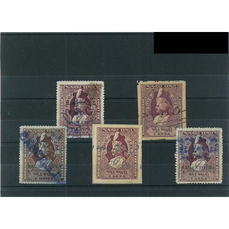 Bhavnagar - 5 timbres différents
