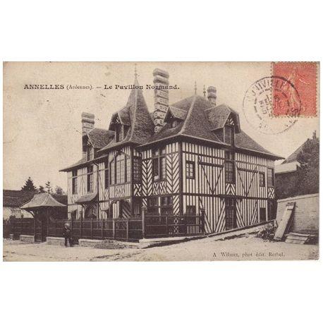 Carte postale 08 - Annelles - Le pavillon Normand