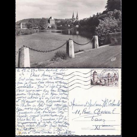 Carte postale 08 - Charleville - Les bords de la Meuse et le vieux moulin - CPSM