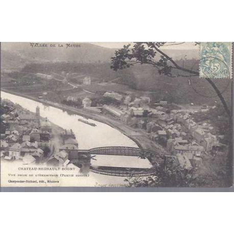 Carte postale 08 - Chateau Regnault Bogny - Vallee de la Meuse