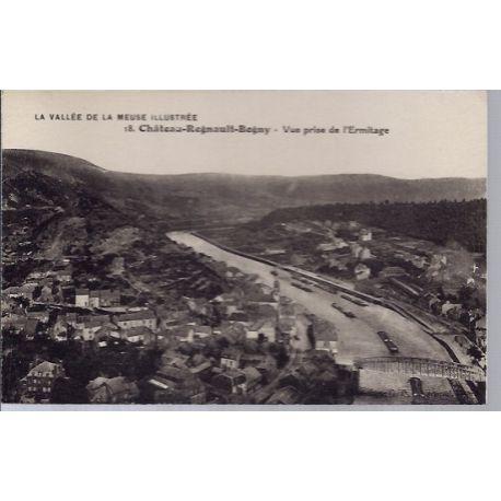 Carte postale 08 - Chateau-Regnault-Bogny - Vue prise de l' Ermitage - Non voyage - Dos di...