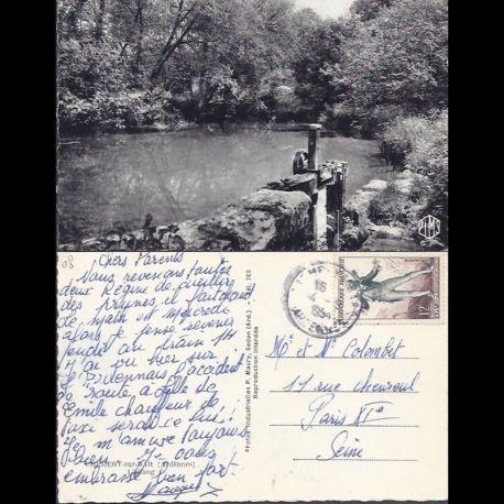 Carte postale 08 - Chemery sur Bar - L'etang - CPSM - Voyage