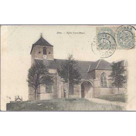 Carte postale 08 - Dnn - Eglise Notre Dame - 1904
