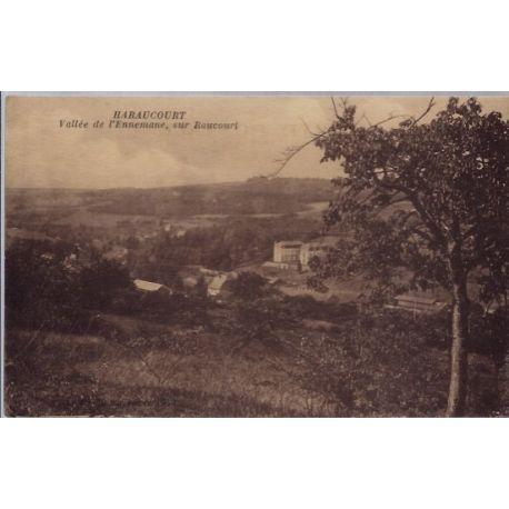 Carte postale 08 - Haraucourt - Vallee de l' Ennemane, sur Raucourt - Non voyage - Dos div...