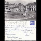 08 - Sedan - Plkace Turenne et hotel de ville - CPSM