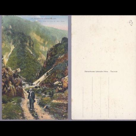 Carte postale 09 - Defile de la Frau pres Fougax et Belesta - Couleur
