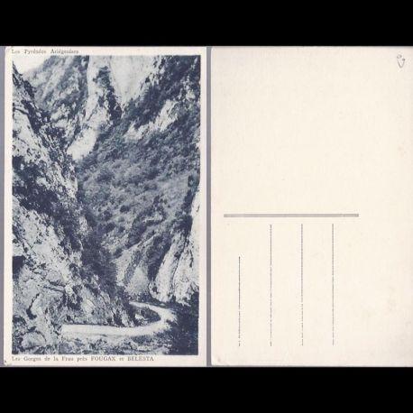 Carte postale 09 - Gorges de la Frau pres fougax et Belesta