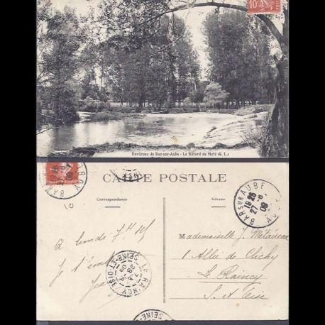 Carte postale 10 - Enirons de Bar sur Aube - Le Batard de Mote