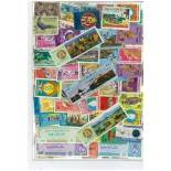 Used stamp collection Burma