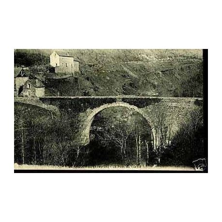 Carte postale 12 - Bonnecombe - Le pont du Diable