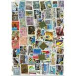 Sammlung gestempelter Briefmarken Bolivien