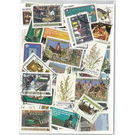 Bophuthatswana - 10 different stamps