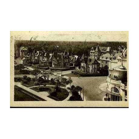 Carte postale 14 - CABOURG - JARDINS DU CASINO ET VILLAS