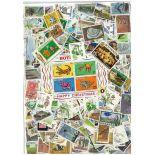 Sammlung gestempelter Briefmarken Botsuana