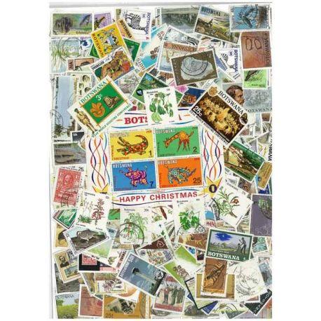 Collection de timbres Botswana oblitérés