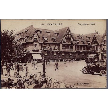 14 - Deauville - Normandy-Hotel - Non voyage - Dos divise...