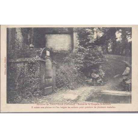 14 - Environs de Trouville - Ruines de la chapelle