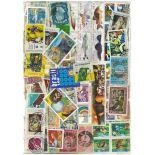 Sammlung gestempelter Briefmarken Brasilien