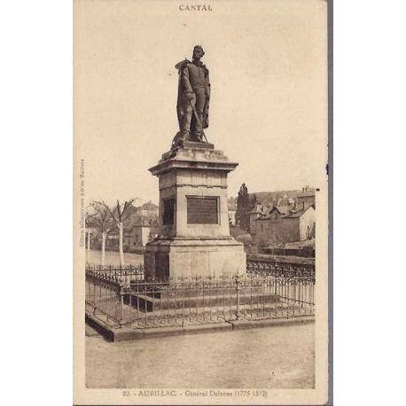 Carte postale 15 - Aurillac - Generale Delzons