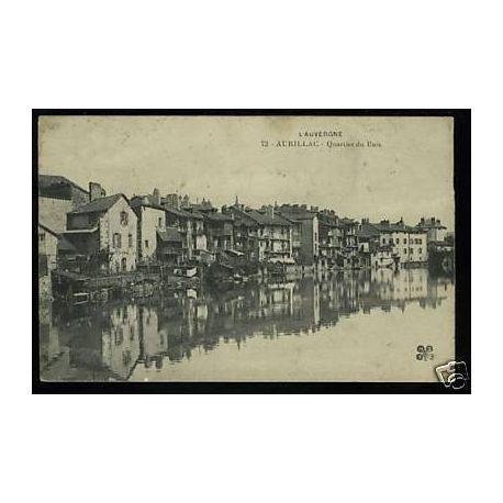 Carte postale 15 - Aurillac - Quartier du Buis