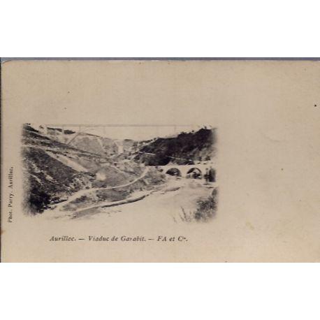 Carte postale 15 - Aurillac - Viaduc de Garabit - Non voyage - Dos non divise...