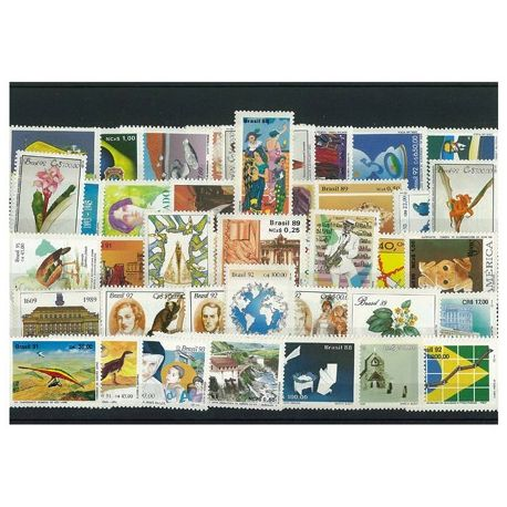 Bresil - 50 timbres différents