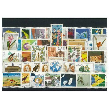 Brasilien - 50 verschiedene Briefmarken