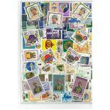 Colección de sellos Brunei usados
