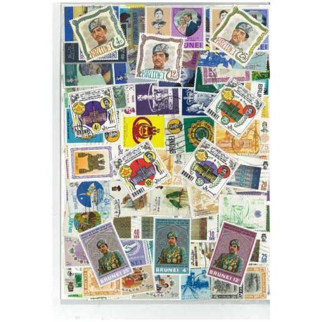 Brunei - 25 timbres différents