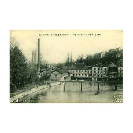Carte postale 16 - ANGOULEME - PAPETERIES DE SAINT-CYBARD