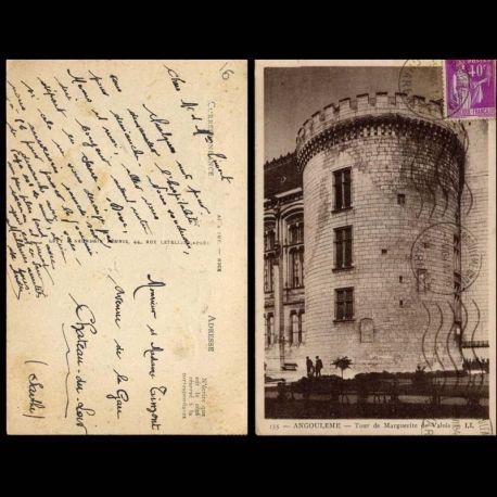 Carte postale 16 - angouleme - Tour de Marguerite de Valois