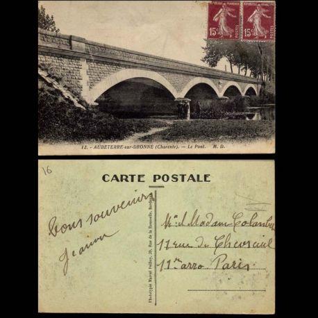 16 - Aubeterre sur Dronne - Le Pont