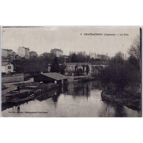 16 - Chateauneuf - La Fuie - Voyage - Dos divise...
