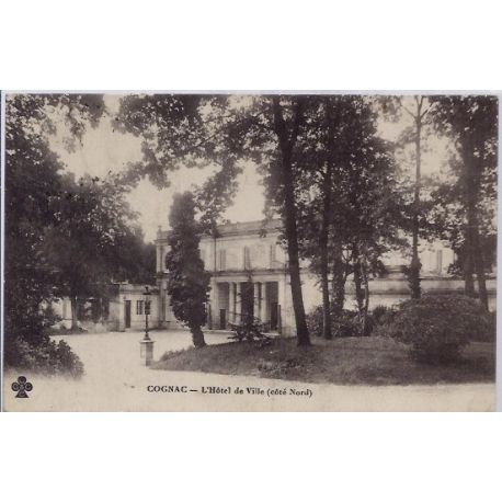 16 - Cognac - Hotel de ville - Voyage - Dos divise...