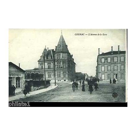 16 - Cognac - L'avenue de la gare - Bureau d'octroi