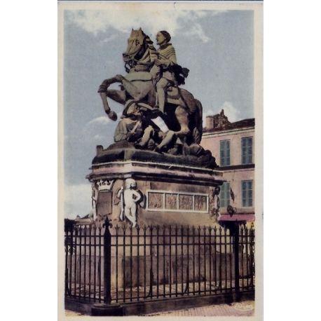 16 - Cognac - Statue Francois 1er - Non voyage - Dos divise...